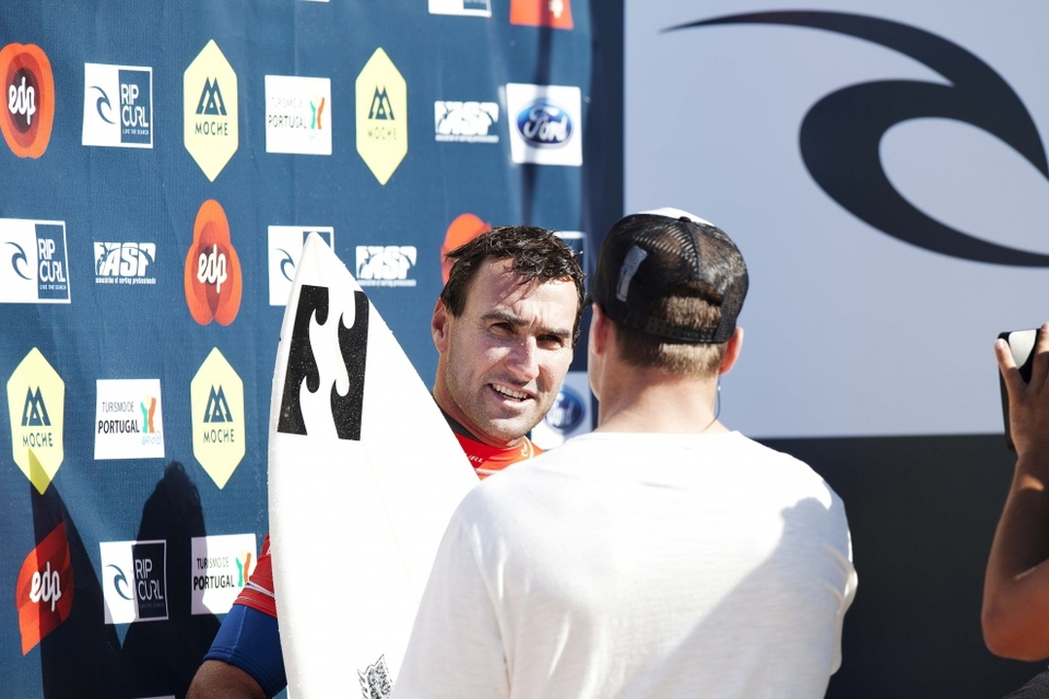 On his side of the draw, Parko, will have to get through John John in the semis and then either of Slater or Fanning come the final. That is if the top four make it through that far...
