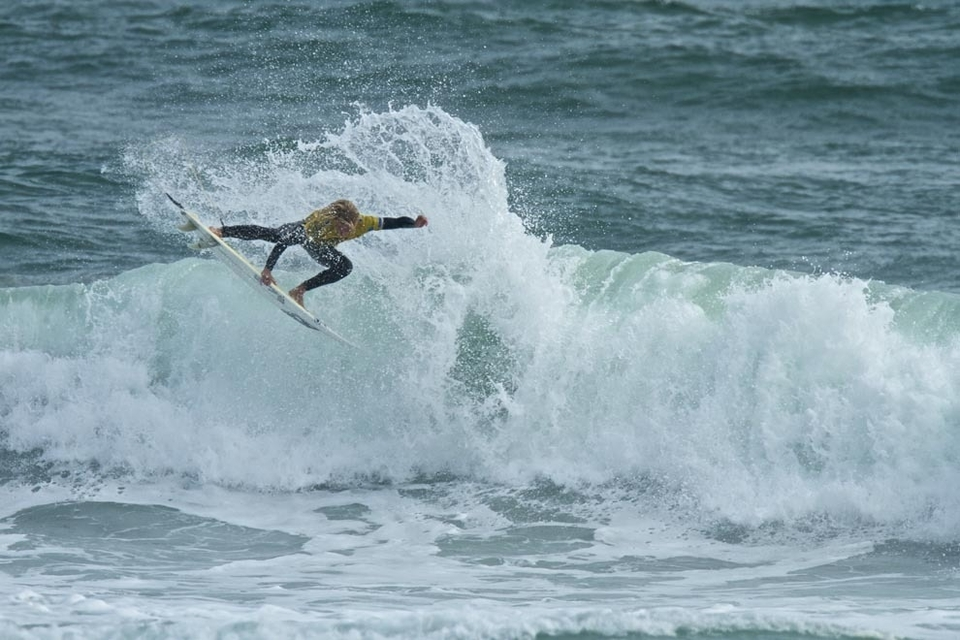 But not to be intimidated, 17-year-old John John Florence then took to the water, pulled out some of the most impressive surfing this competition has seen so far, and walked away with a perfect 10.   And this is only the second day of competition at the O'Neill Cold Water Classic Tasmania.