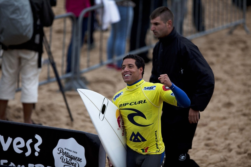 Adriano de Souza claims on the water or the land. Now everyone claims. It's like a virus, this spreading acceptance of athletes at the pinacle of their sport expressing a passionate desire to win.
