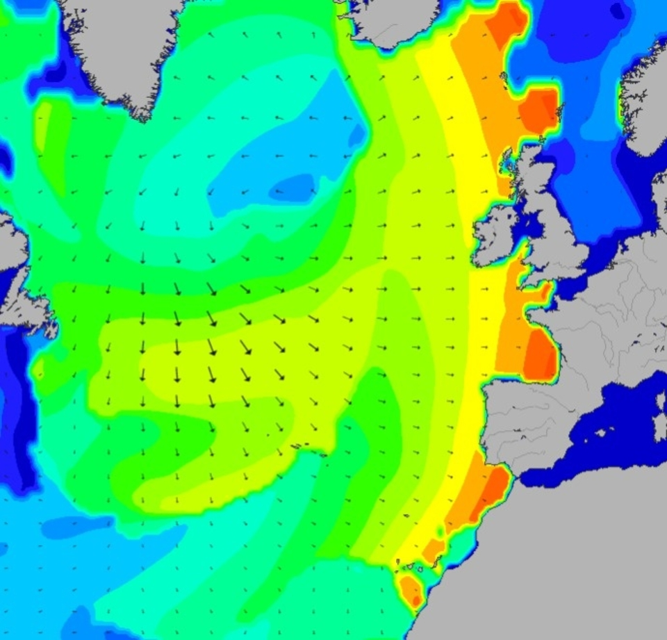 Ben Freeston, magicseaweed forecaster breaks down the swell for this session: