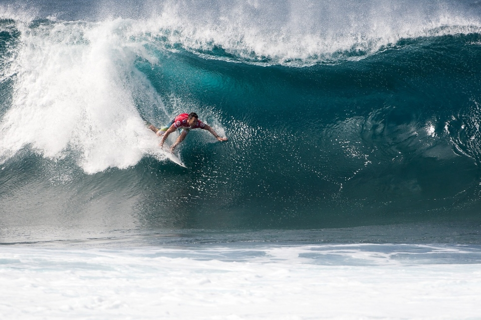 Parkinson has been the world title bridesmaid four times (2002, 2004, 2009, 2011). His Billabong Pipe Masters victory is his 11th elite event win over the course of his career, and by clinching the ASP World Title has established himself as one of the greatest surfers of all time.    Joel Parkinson 2012 ASP WCT Results:   Quiksilver Pro Gold Coast: 5th  Rip Curl Pro Bells Beach: 3rd  Billabong Rio Pro: 2nd  Volcom Fiji Pro: 9th  Billabong Pro Tahiti: 2nd  Hurley Pro at Trestles: 2nd  Quiksilver Pro France: 3rd  Rip Curl Pro Portugal: 3rd  O'Neill Coldwater Classic: 5th  Billabong Pipe Masters: WINNER