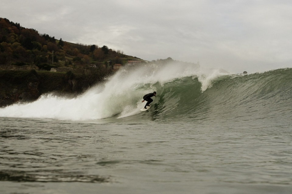 Even on the small days there are tasty barrels to be had.