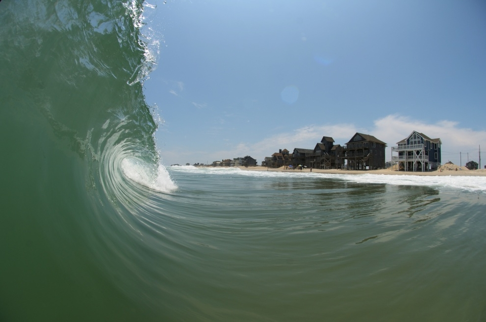 CarpeWave  capturing both sides of the Outer Banks, perfect beachies and erosion about to ruin your sea view.