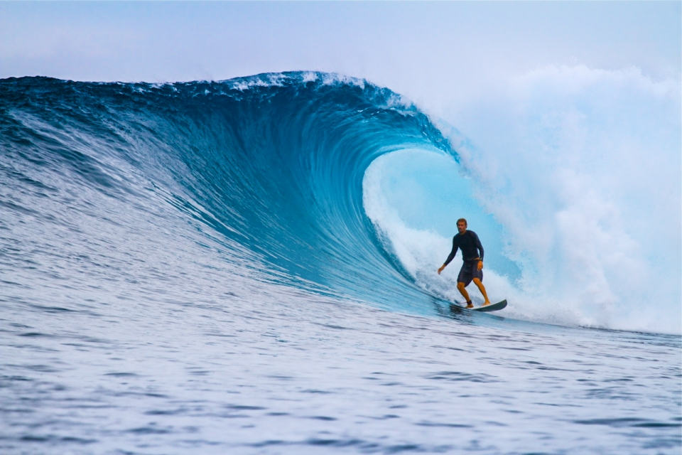 Three solid swells graced September. Winds were dicey but there were moments and Joey Melroy latched tail on a beauty.