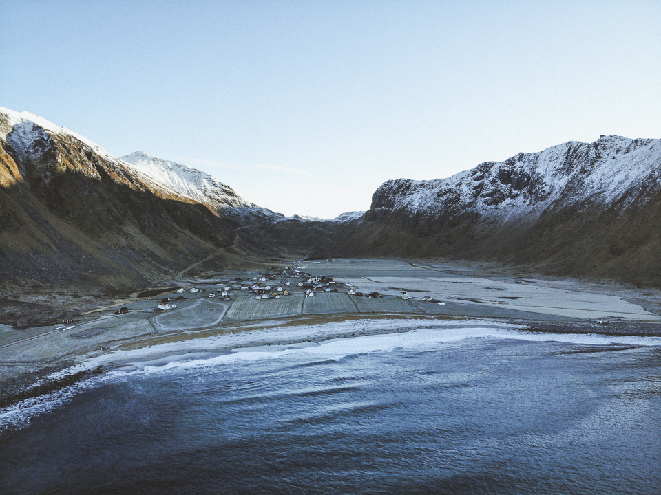Welcome to Unstad, the home of surfing in Lofoten.