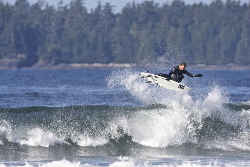 THE final 16 surfers at the O'Neill Cold Water Classic Canada were today decided in a display of highly competitive and impressive surfing in near-perfect conditions on Vancouver Island.