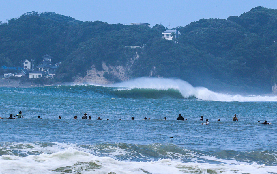Almost a year ago, Typhoon Shanshan slammed Japan. The onlookers were thrilled.