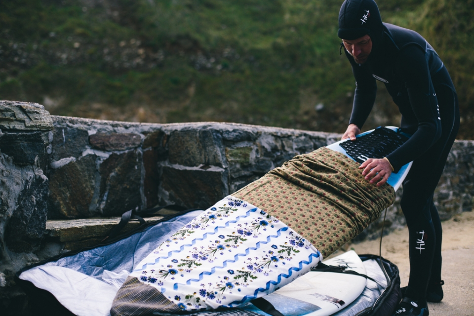 With conditions a mystery, the only way to prepare was to pack all kinds of surf craft.