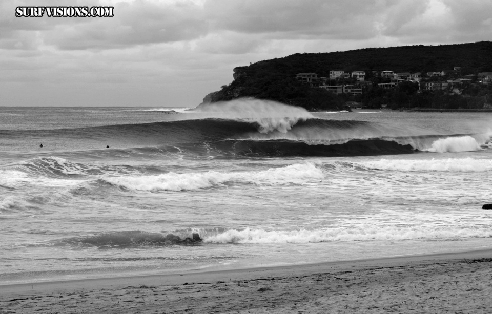 Not to be outdone the Steyne area threw some heavy shapes courtesy of  surfvisions .
