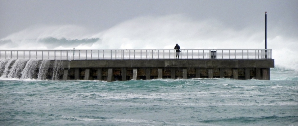 Boynton Inlet area some some proper size and winds to go along with it.