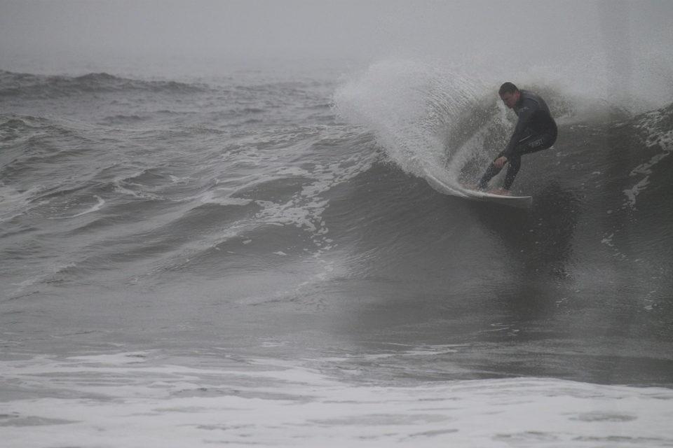 Taking a chunk off the pre-Hurricane Irene swell.    More  here