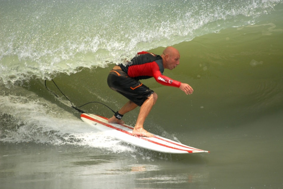 Chasing the green at the north end of Sebastian Inlet, Florida.   More  here