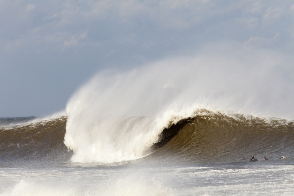 New Jersey having a far from lazy Sunday thanks to some Irene brutality.    More  here