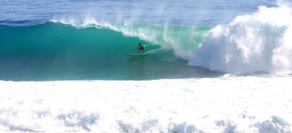 Kenny Ward, guilty of charging deep Bajan barrels all day at Parlors. They didn't name it after a room for shits and giggles.    More  here