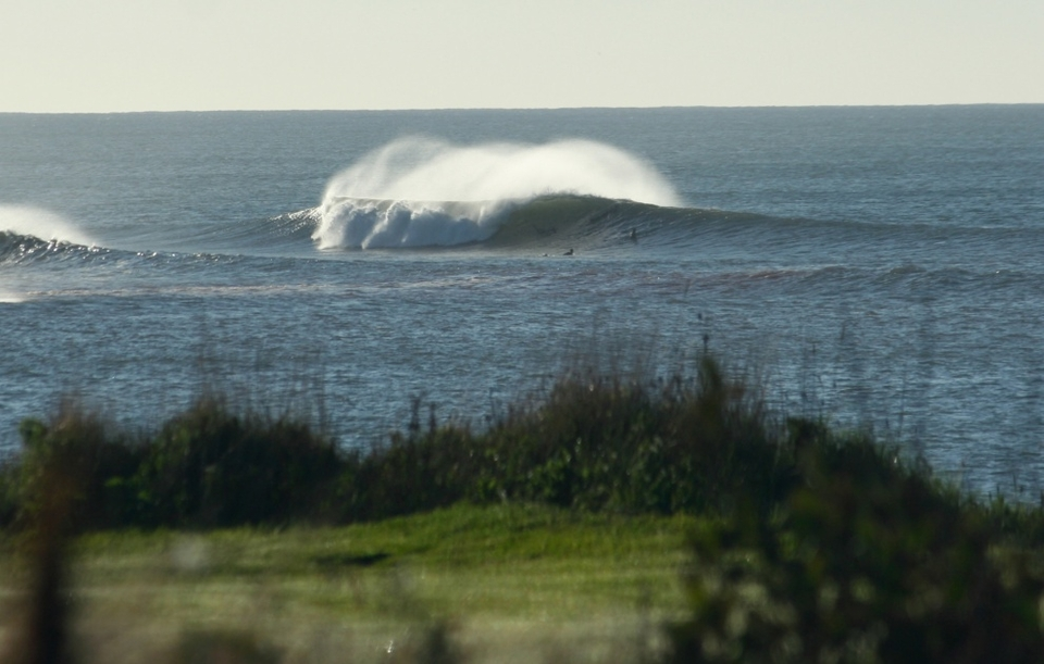 Nova Scotia's Cow Bay doing an Aussie outer bombie impression.    More  here