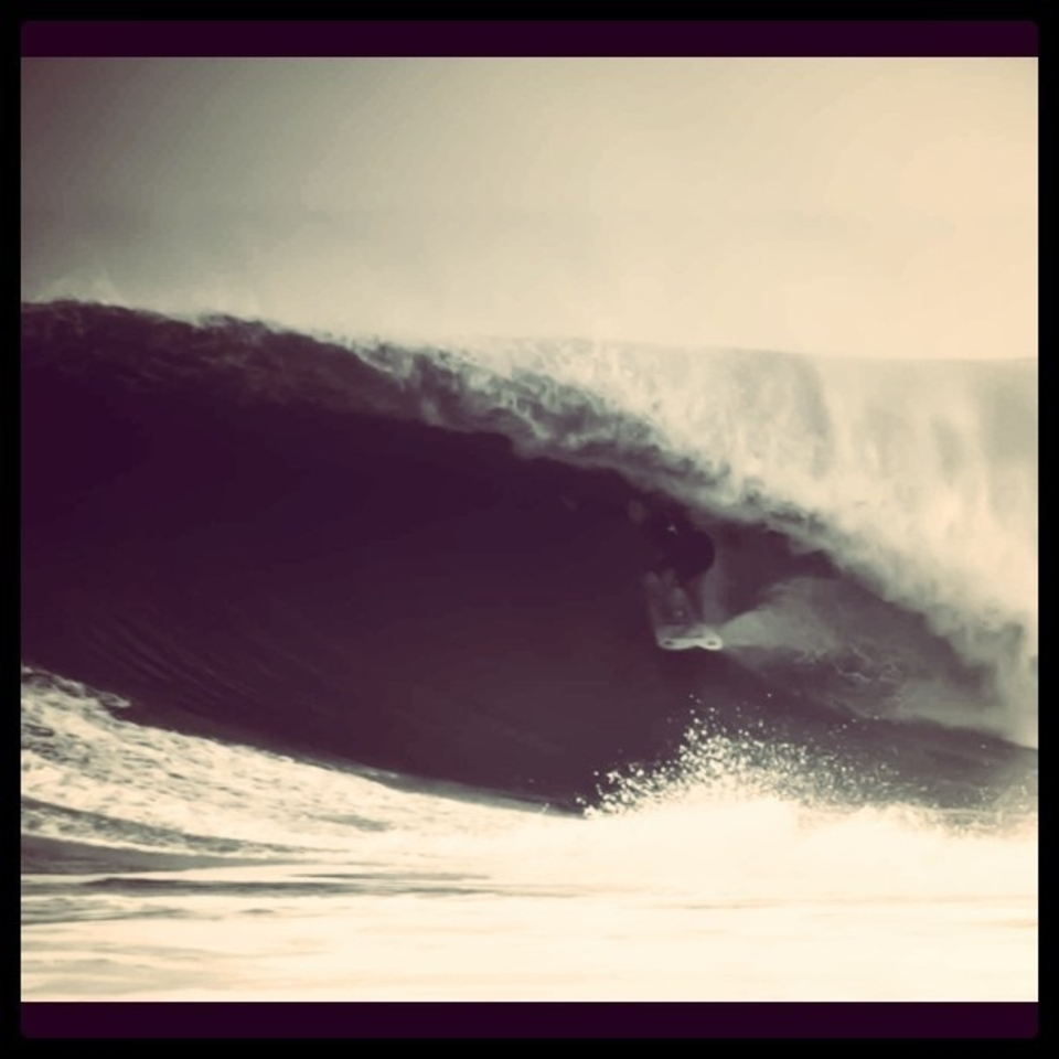 Could be the 1970s or just a few days ago ... Heavy days for Charlie Weimar at Montauk.    More  here