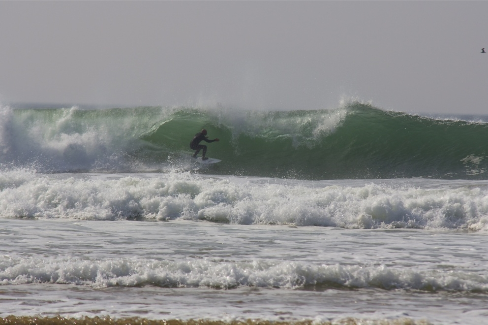 Porth looking about as good as it ever has. You reckon he made it?    More from Angus  here