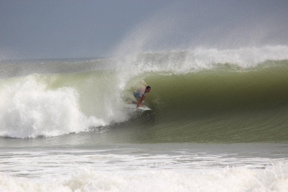 Andy Neill cruising for a bruising in St. Augustine, Florida