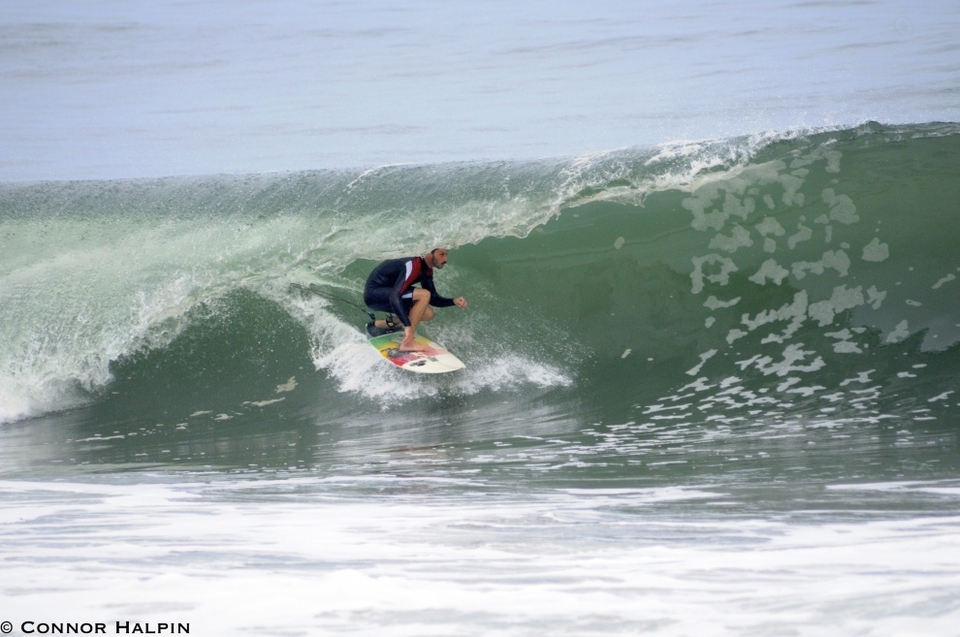 Ryan Oleary is coming out of this one at Belmar, New Jersey.