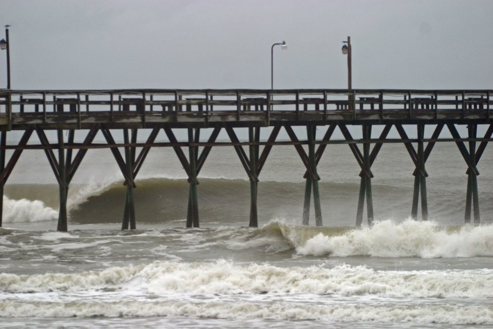 Fancy shooting the pier at Sunset Beach, North Carolina?