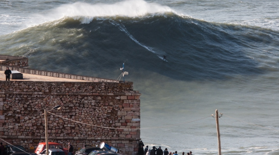 Come on ... We had to include one of Nazare.
