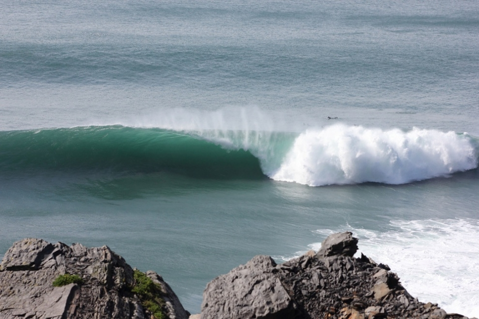 That spot under those cliffs in Western Ireland on March 30th which produces mega barrels.