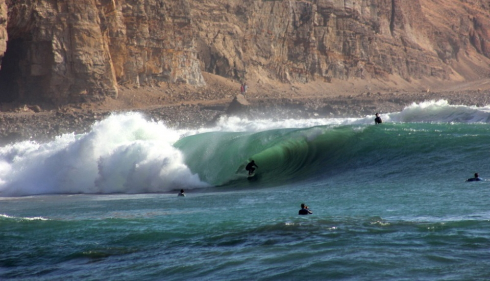 The construction of a coastal road in 1983 dramatically reduced the quality of the wave at La Herradura, near Lima. Then in 2004 it was saved from complete annihilation thanks to an international campaign in opposition to a proposed marina development. Now campaigners have an effective legal mechanism through which to protect their waves.  Rider: Francisco Landazuri
