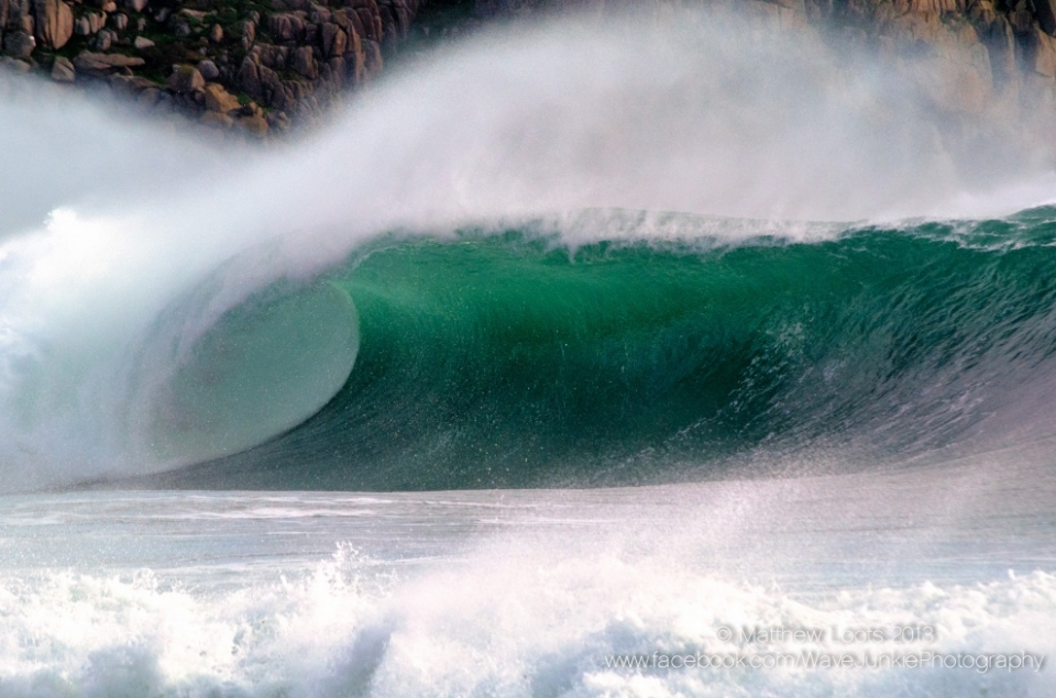 Storm surf in all its glory.