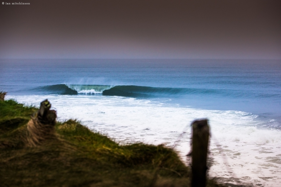 Secret, Ireland.  We may live in an age of perpetually packed lineups and fierce competition, but know where to go and flawless, empty waves aren't beyond the realm of possibility.