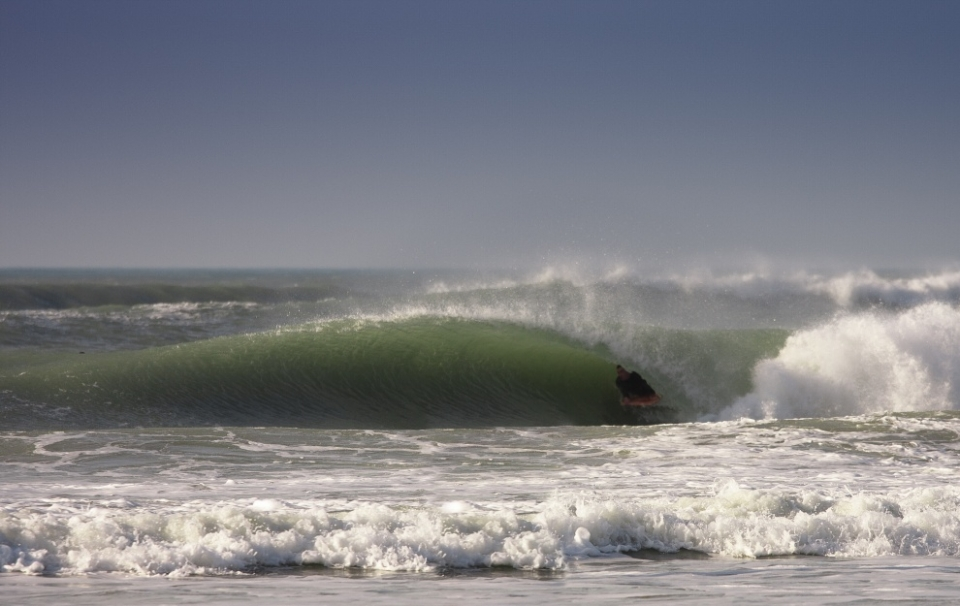 Tube time at Fistral.