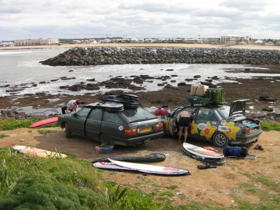 Cars and first surf