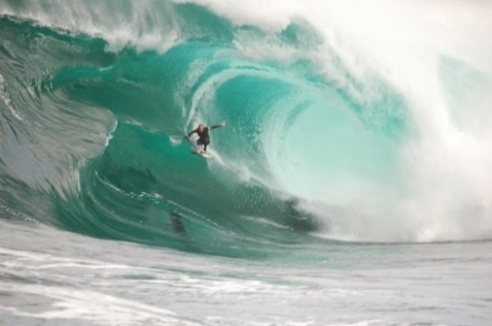 Dropping into the beast ... James Hollmer Cross,