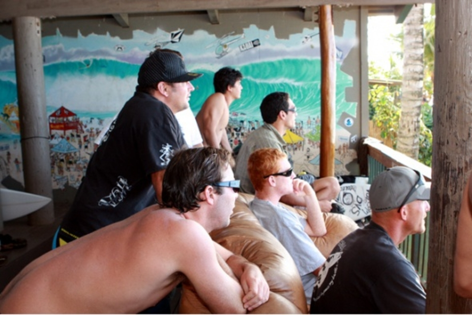 The boys ... Volcom House