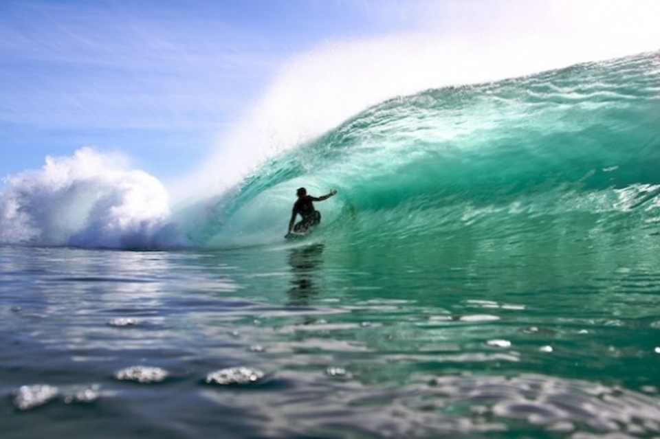 Stage one, get slotted ... Hayden Cox