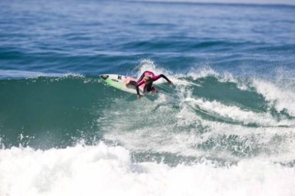 Sarah Baum took a milestone win by claiming the first ever ASP Africa sanctioned event in South African surfing history