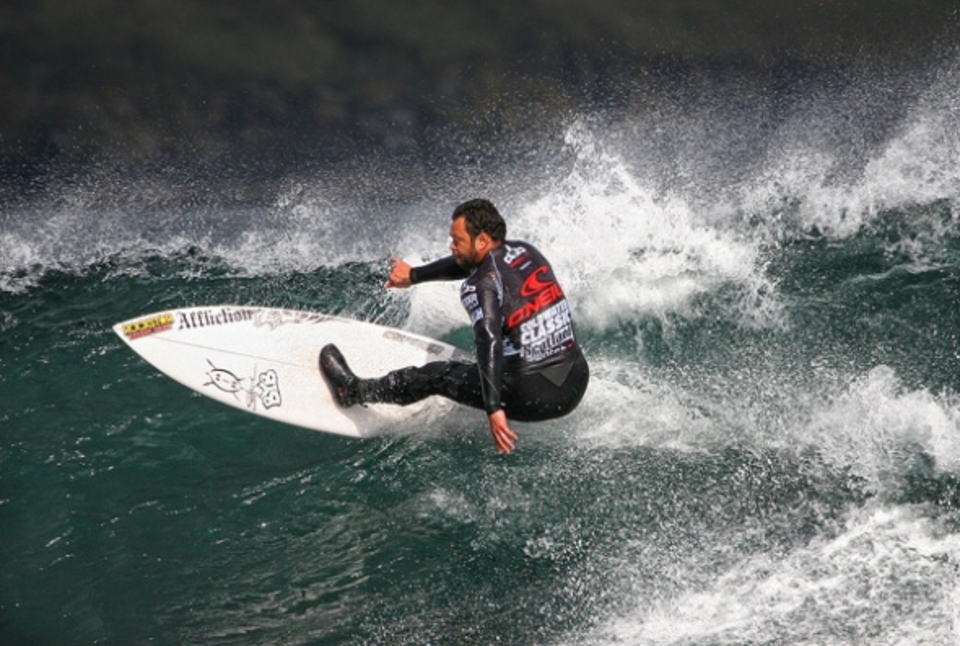 Unlucky to lose out ... Sunny Garcia