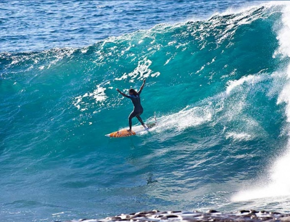 And out ... Layne Beachley