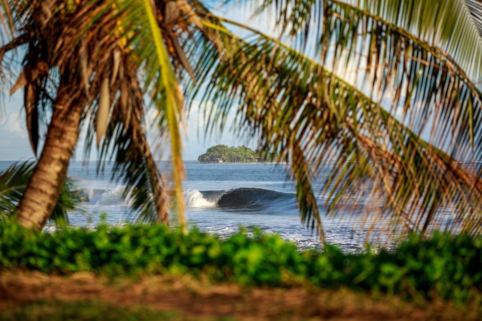There's waves on the north coast of Tahiti too, you know.