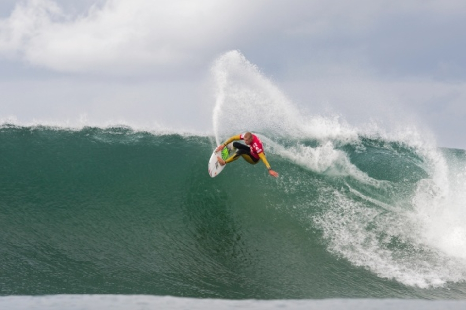 Eliminated from the event by Bourez  ... Mick Fanning