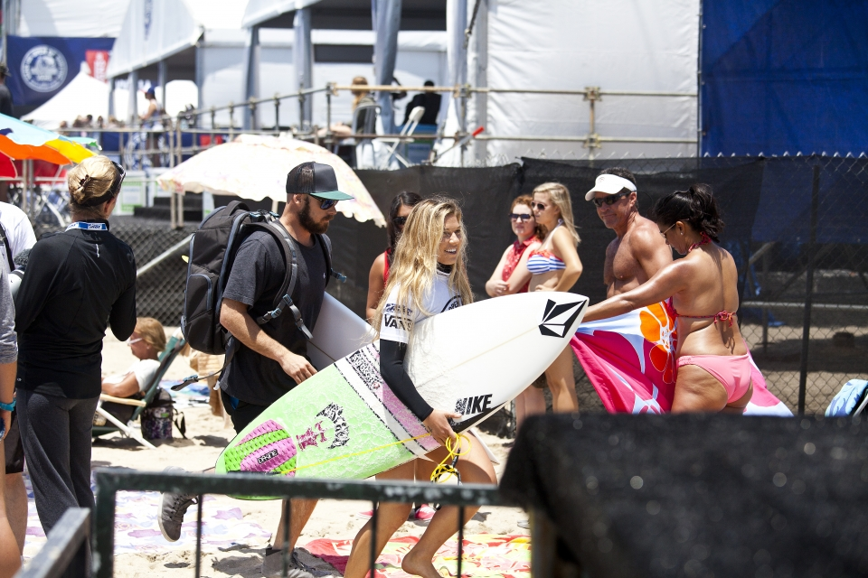 Coco Ho, huge crowd favourite