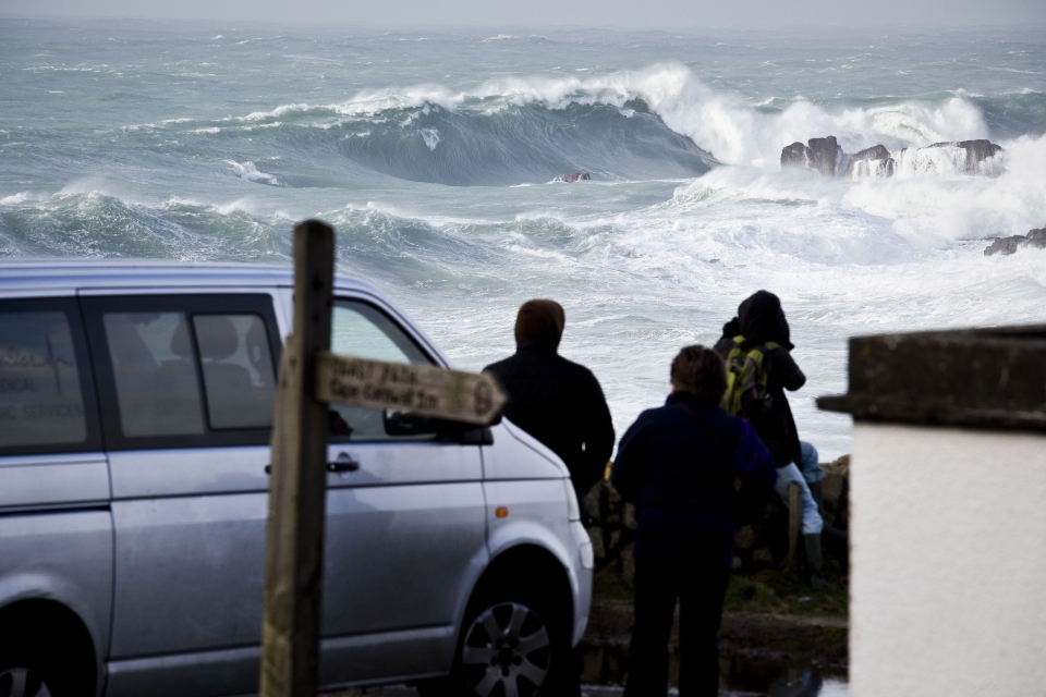 The Winter storms brought with them more than just oceanic energy.