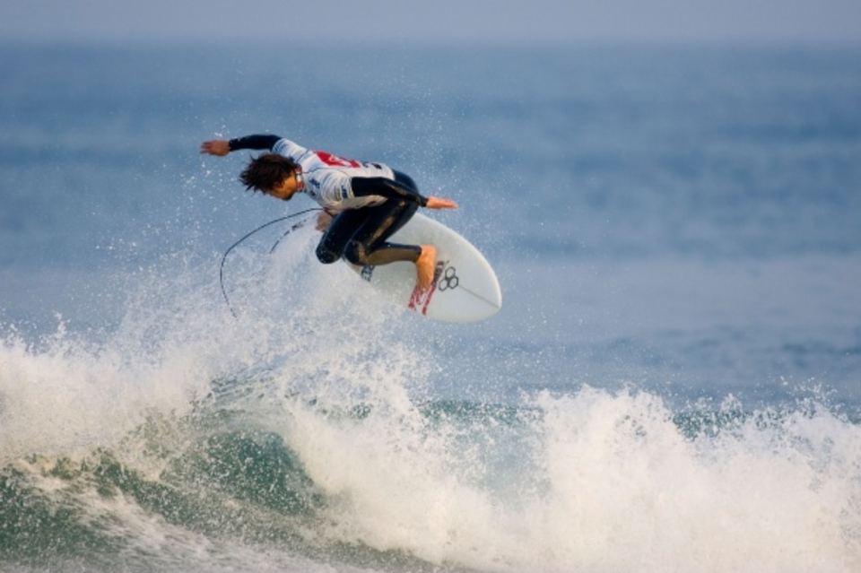 Again he proved to be a massive highlight ... Dane Reynolds