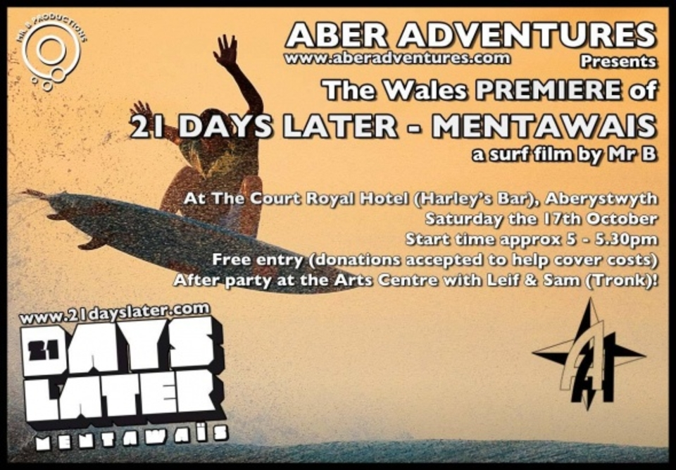 Aber Screening Poster