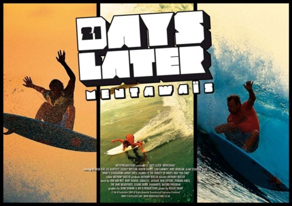 21 Days Later - Mentawais Poster