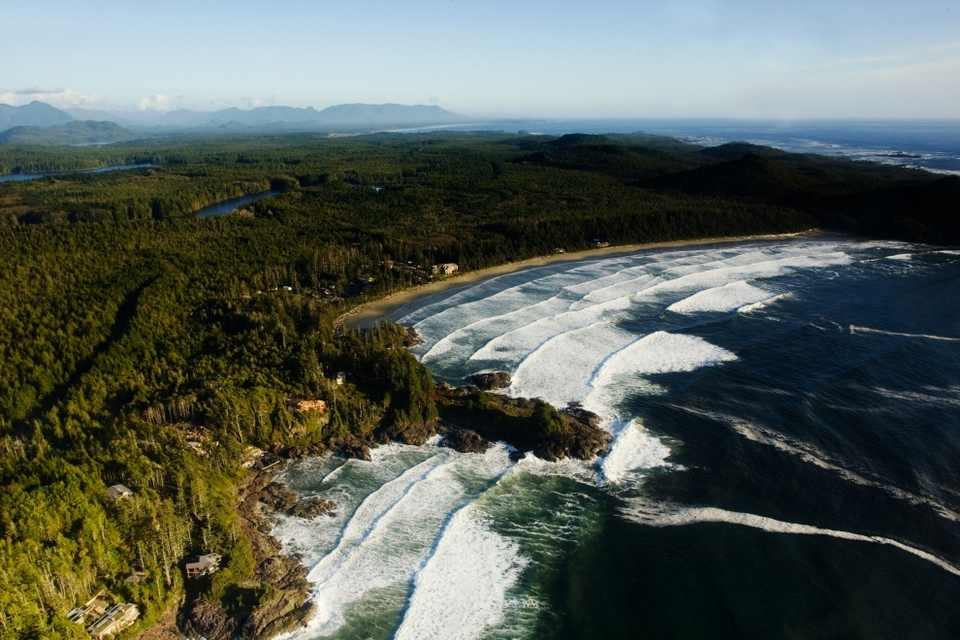 The whole of Tofino lined the beach on this Saturday Halloween producing the biggest crowd ever seen at an O'Neill Cold Water Classic event - and this is a remote location by any stretch of the imagination.