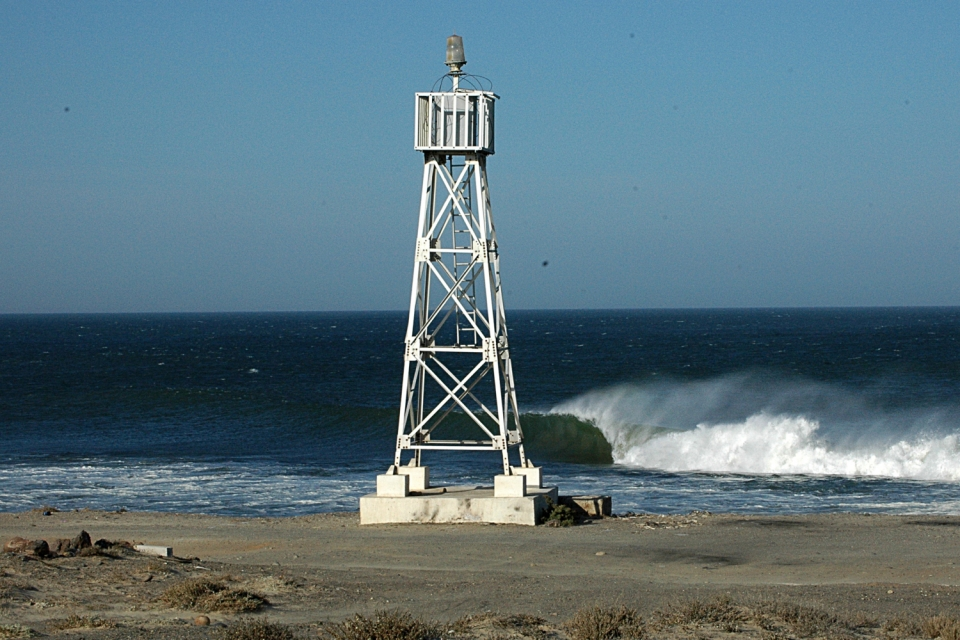 Loneliness.  We explored and found it.  The lighthouse, all day offshore winds and hidden gems in the Mexican desert.