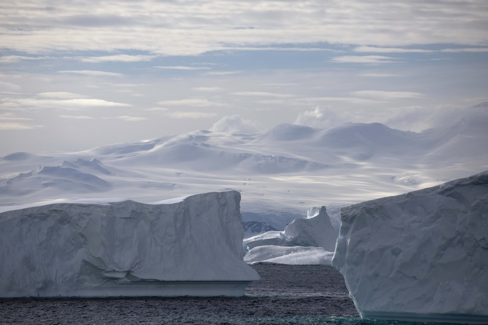 From the depths of Antarctica.