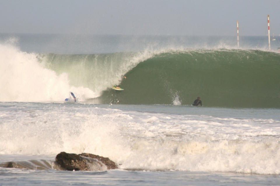 Cabo Blanco, another world class Peruvian left which came close to extinction when local government proposed a groyne extension. Surfer: Sebastian de Romana