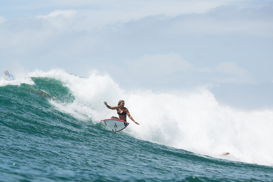 One top turn with Sage Erickson.