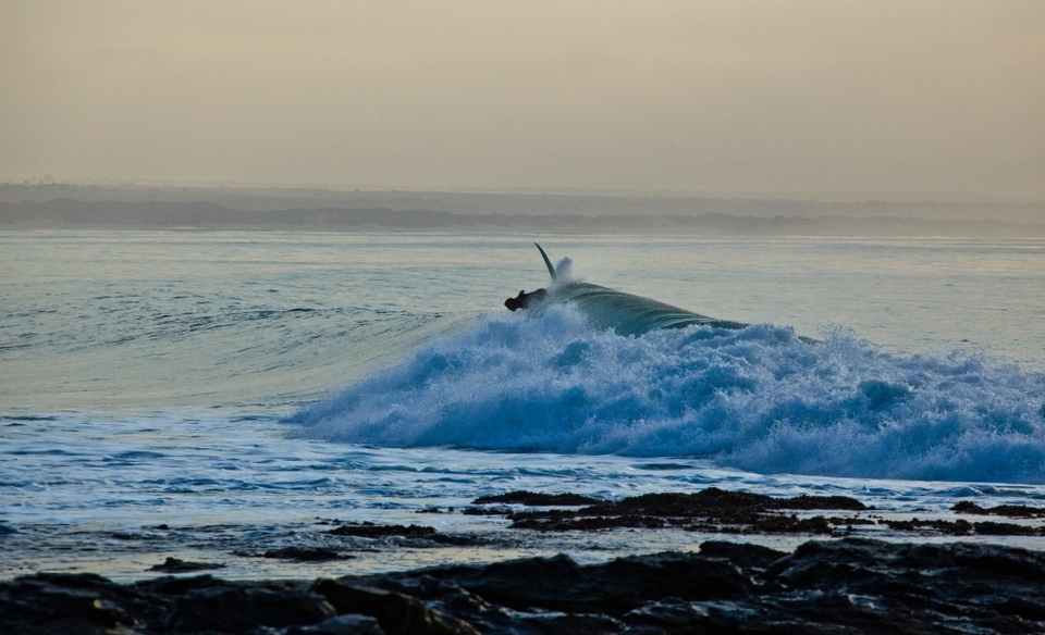 Whacking off-the-top in 'early morning bashes the lip' kinda way,